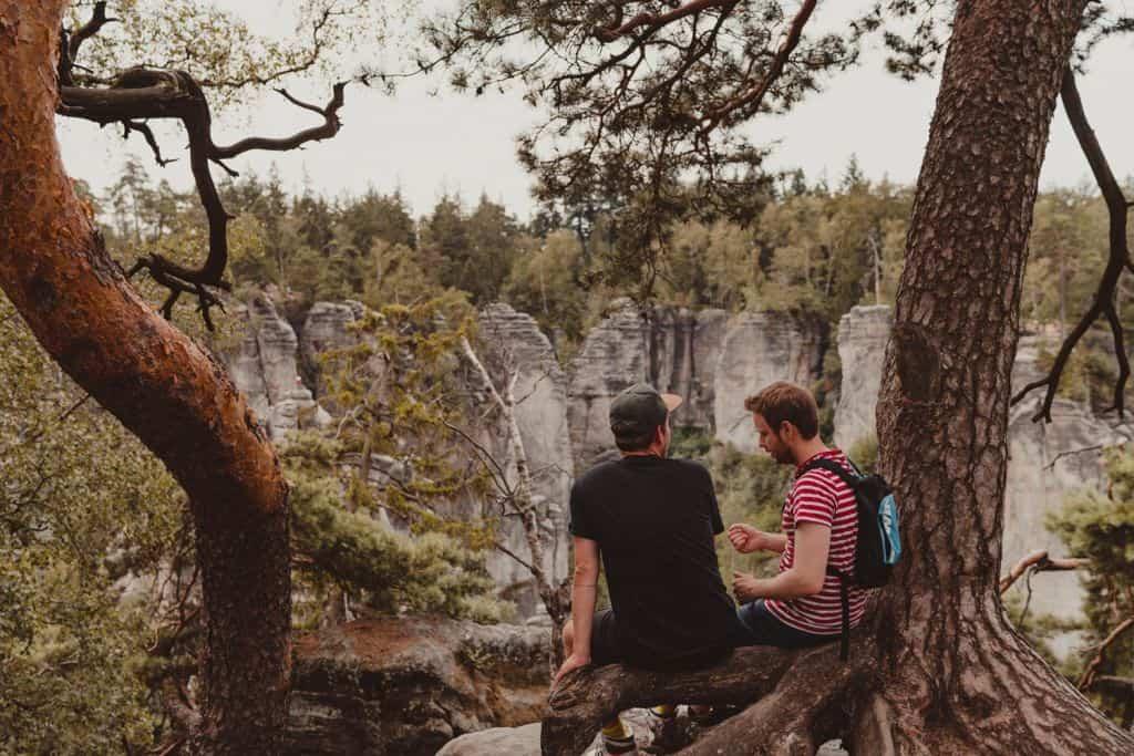 wildkamperen in tsjechie