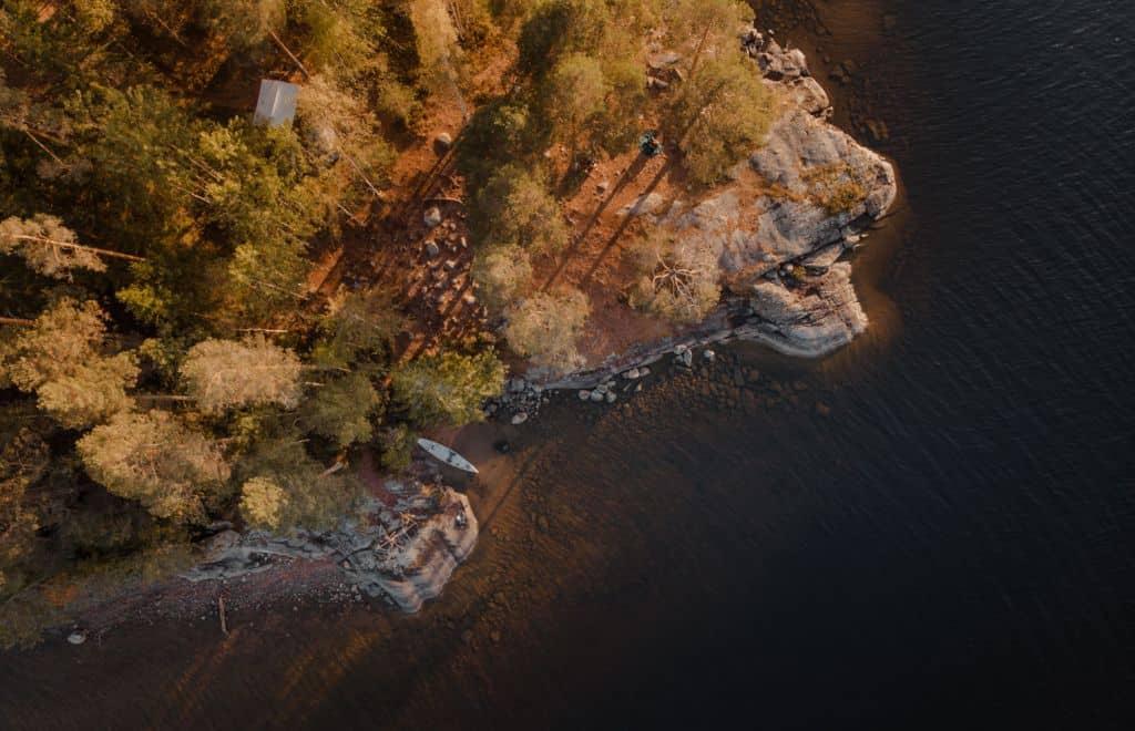 kanotochten in scandinavie