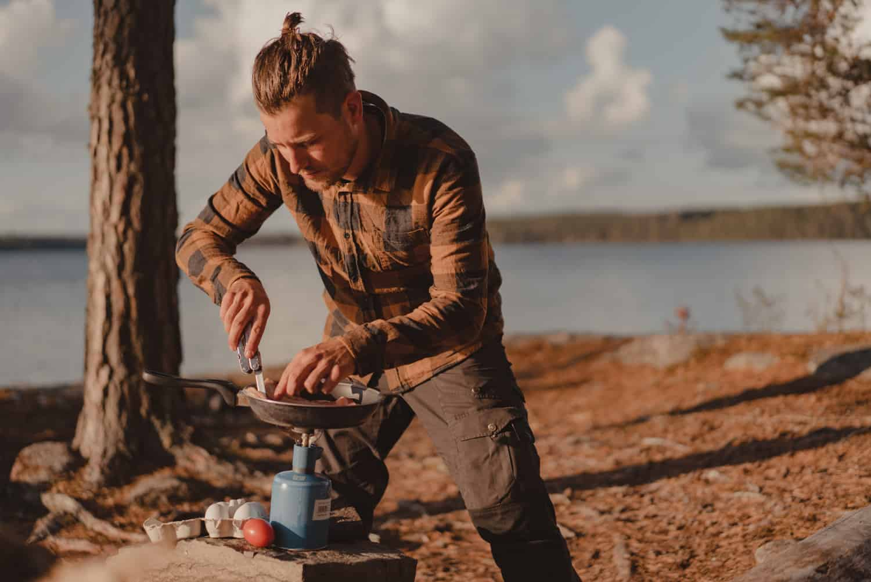oudoor kamperen kajak zweden