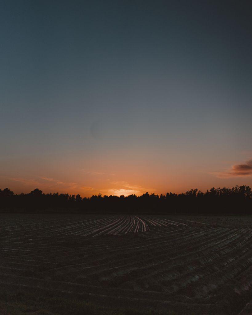 wandelen in leuven zonsondergang