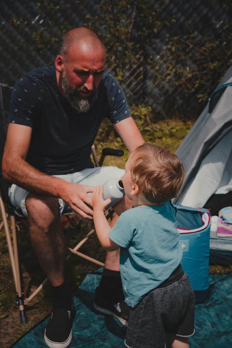 staycation kamperen belgie