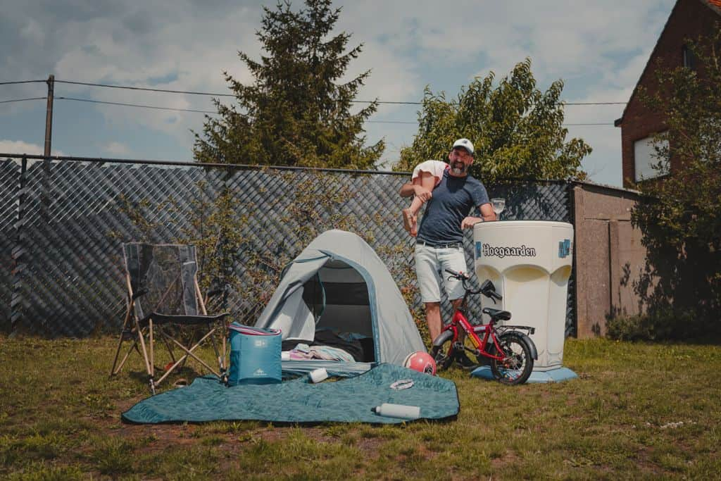 Staycation met hoofdletter S.: kamperen in je eigen tuin
