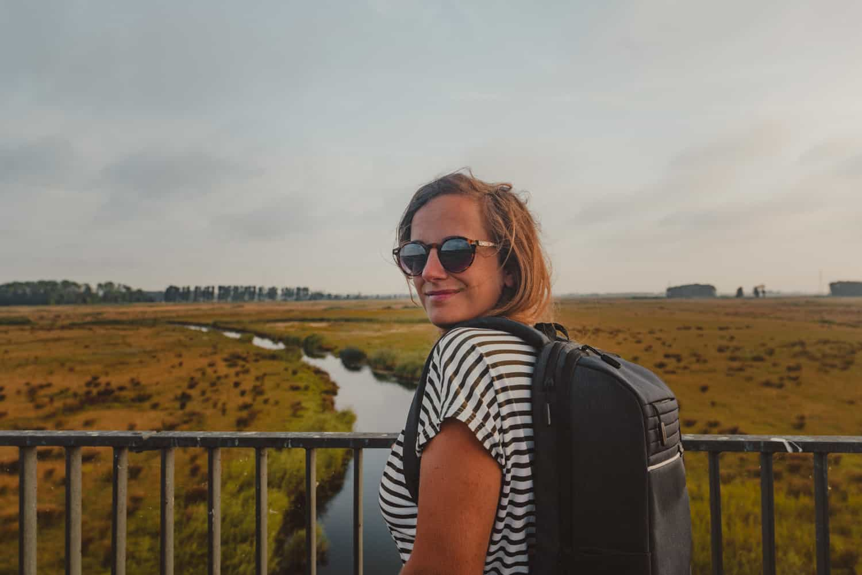 wandelen in biesbosch