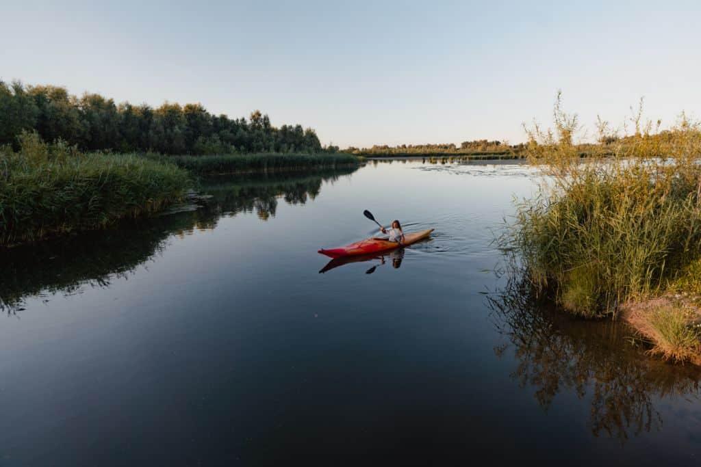 kanoen biesbosch natuur bezoeken