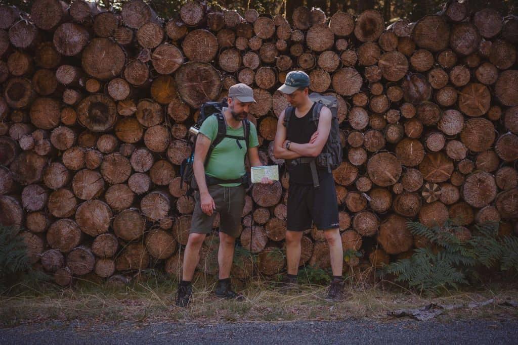 hiken in de morvan frankrijk