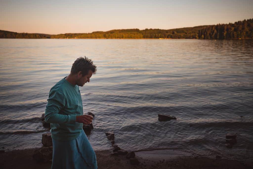 meren in frankrijk zwemmen lac de settons