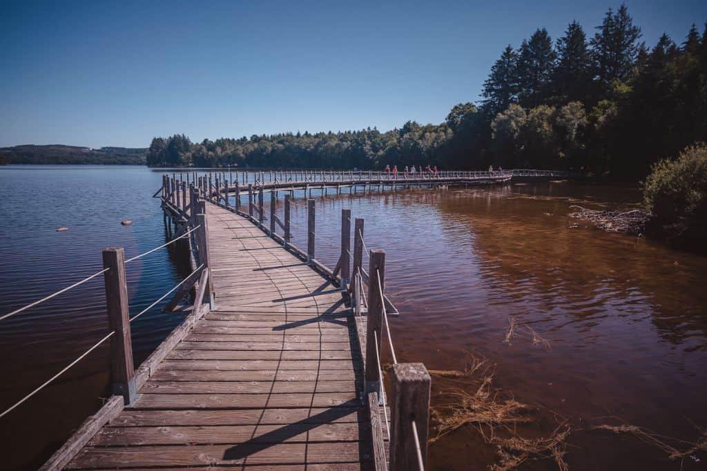 wandelen lac de settons morvan