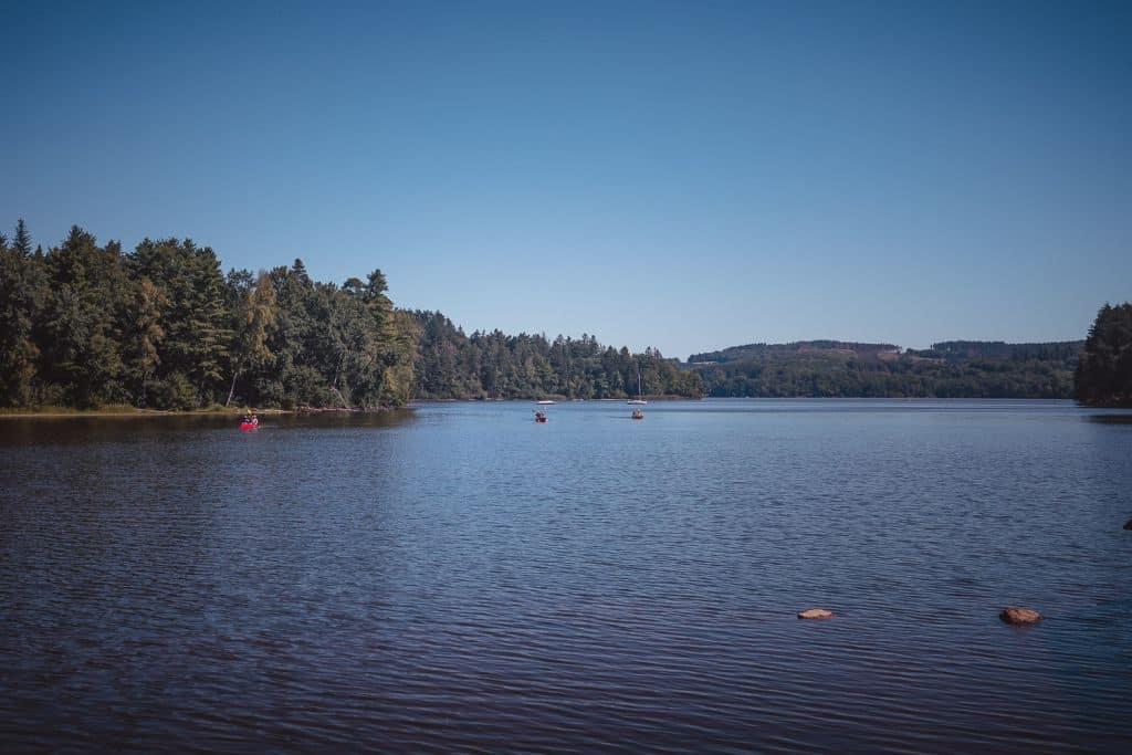 lac de settons morvan