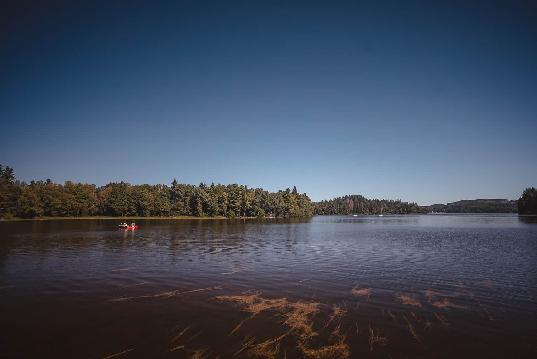 wandelen rond lac de settons