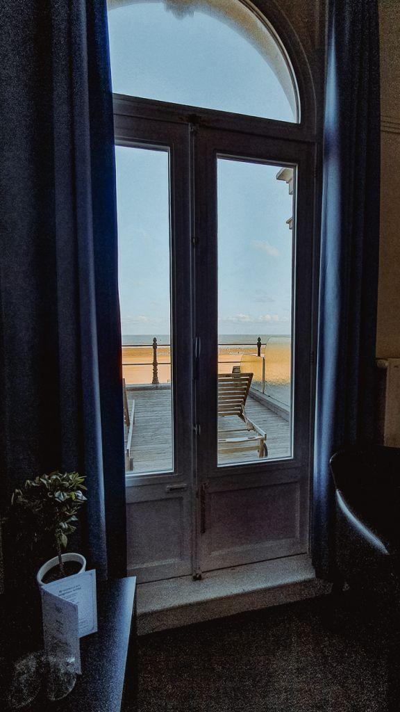 hotelkamer zicht op zee in oostende