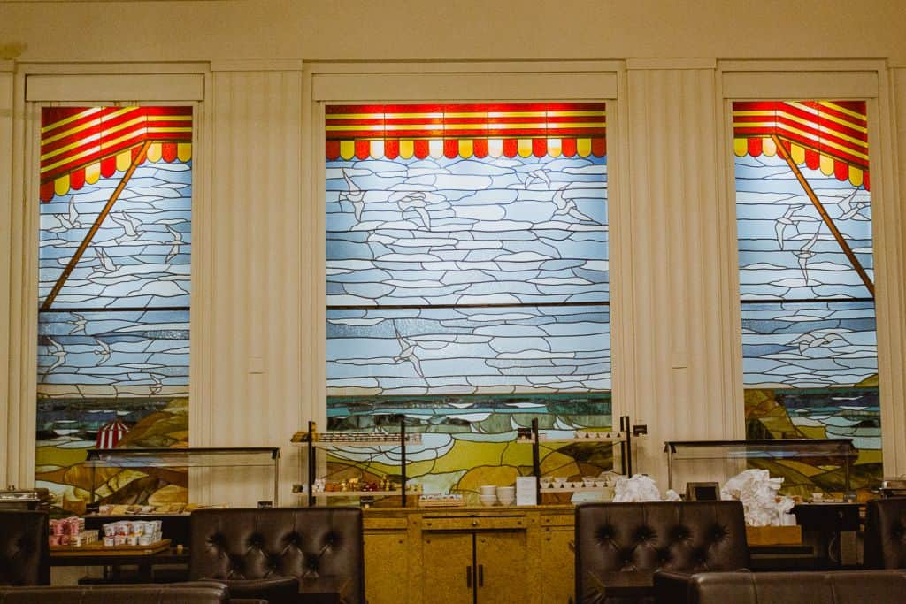 glasramen art-deco brasserie albert