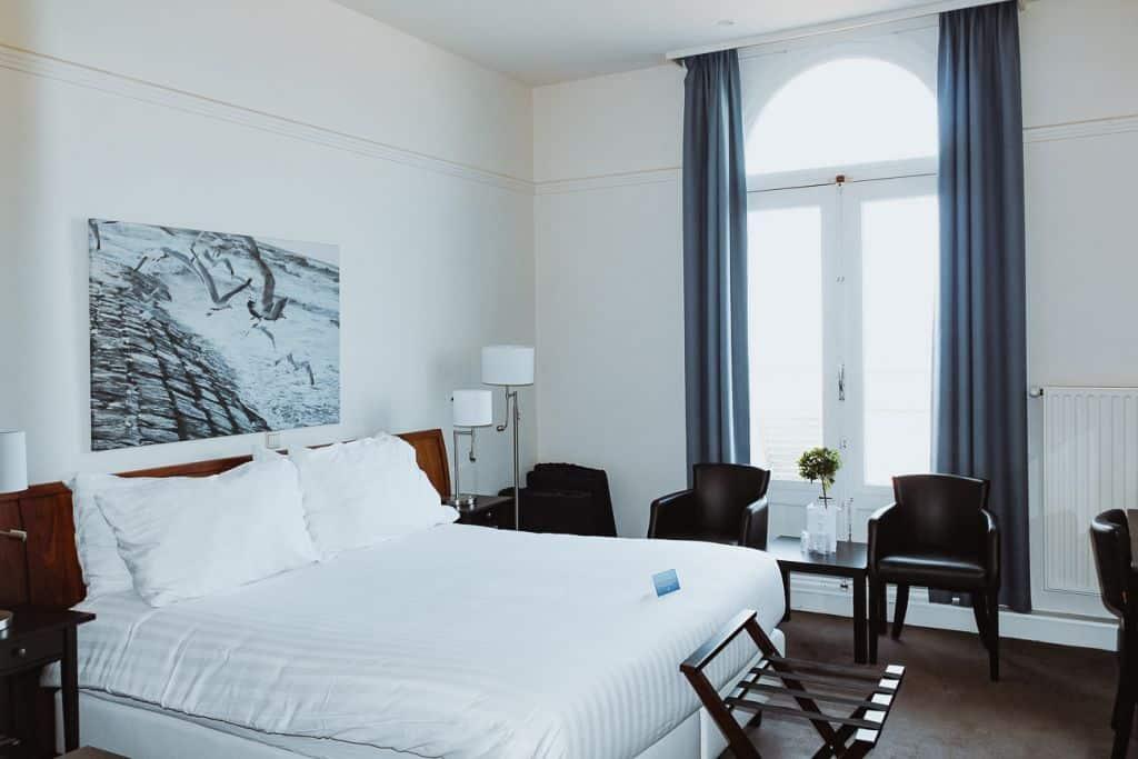 hotelkamer zicht op zee oostende