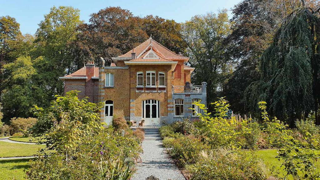 villa carpentier art nouveau Ronse kunst