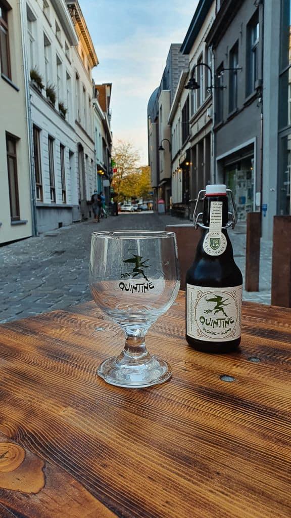bier streekbier Quintine