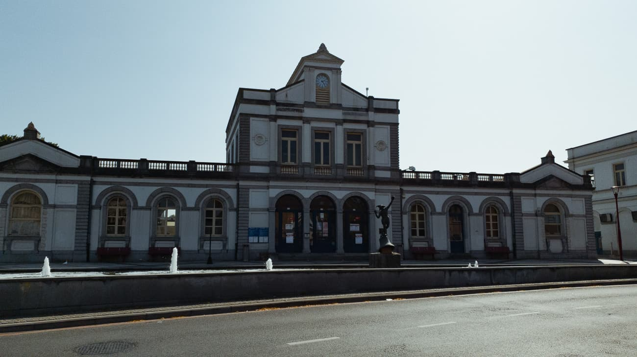 station Ronse architectuur