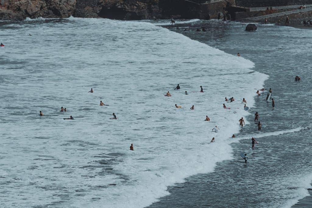 waar beste surfen tenerife