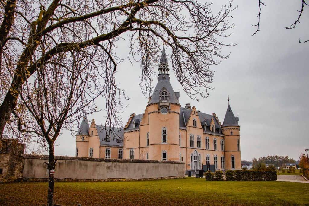 roze kasteel du faing jamoigne