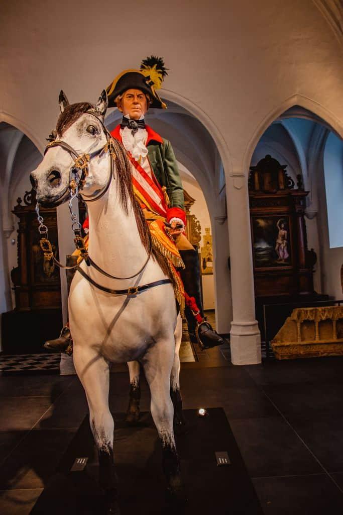 oorlogsmuseum Florenville daguitstap Wallonië, beeld Baillet-Latour