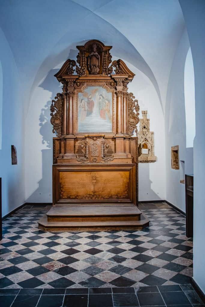 Florenville kerk museum Wallonië