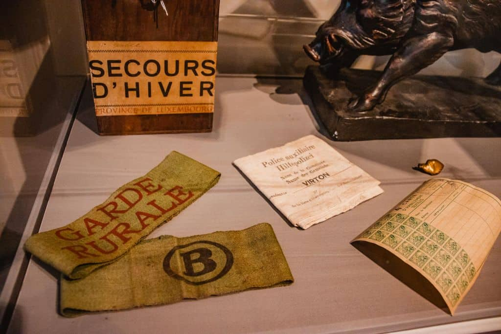 oorlogsmuseum nmbs Wereldoorlog Florenville daguitstap Wallonië
