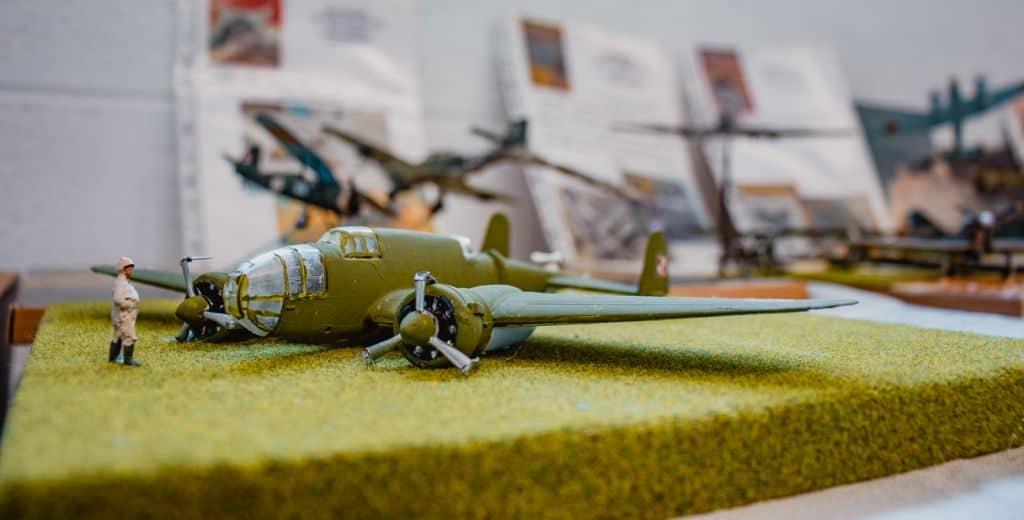 diorama oorlogsmuseum Florenville Ardennen