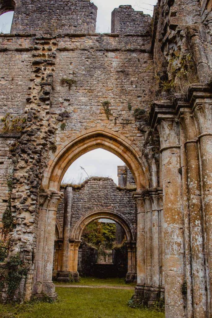 middeleeuwse ruïnes abdij van orval Ardennen