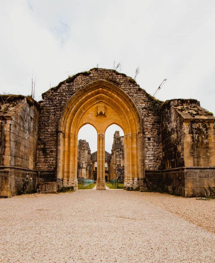 abdij van orval ruïnes Wallonië