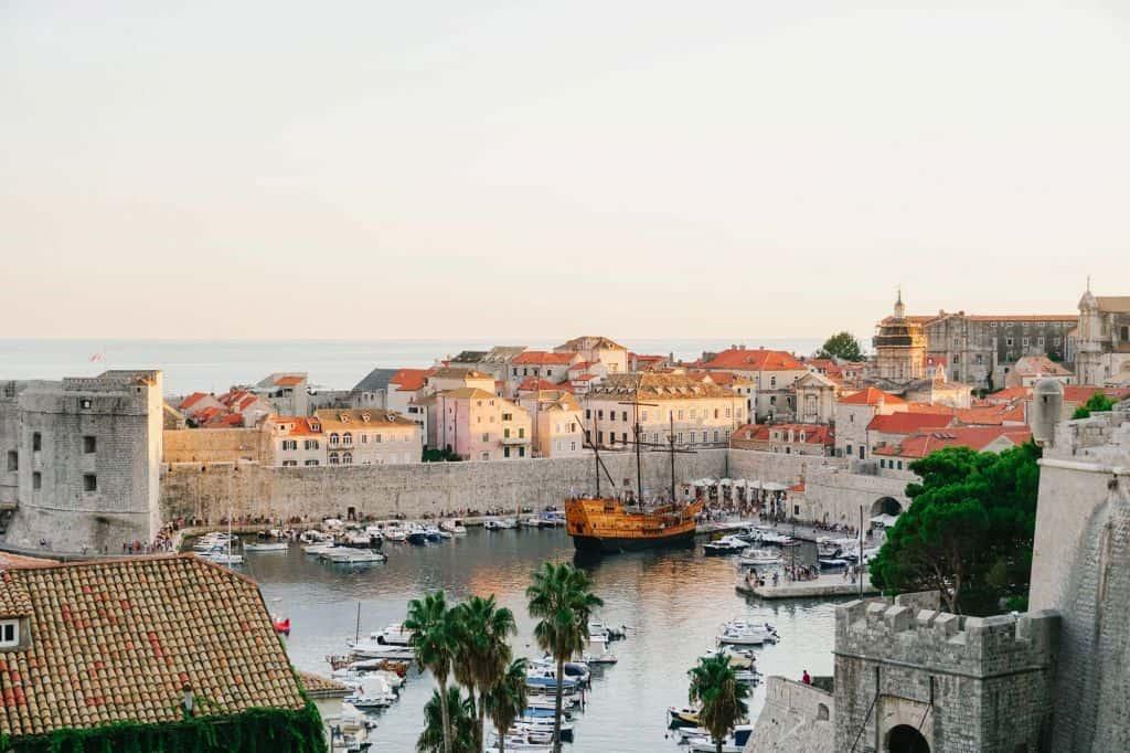 Dubrovnik en de oude haven: de mooiste stad van kroatie