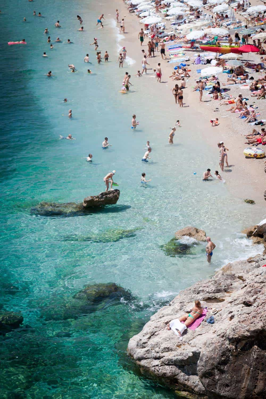 stranden van dubrovnik