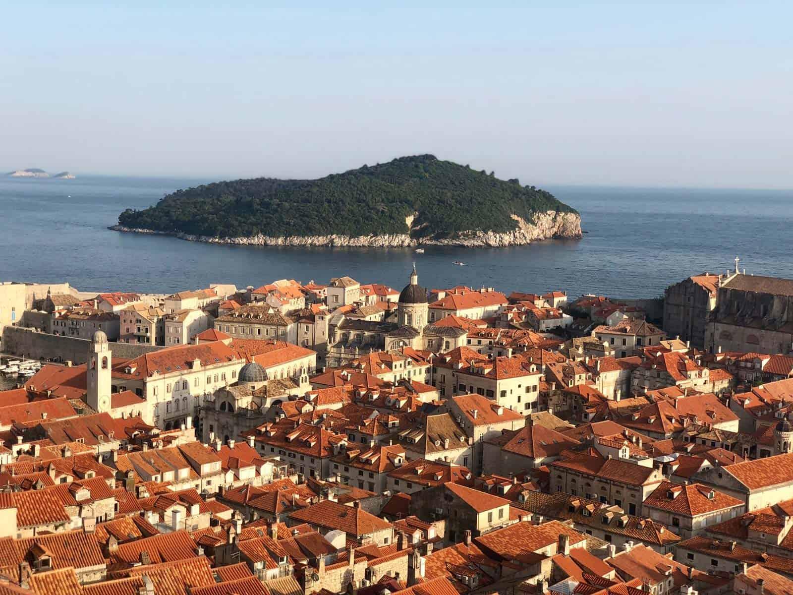 beste panorama over Dubrovnik