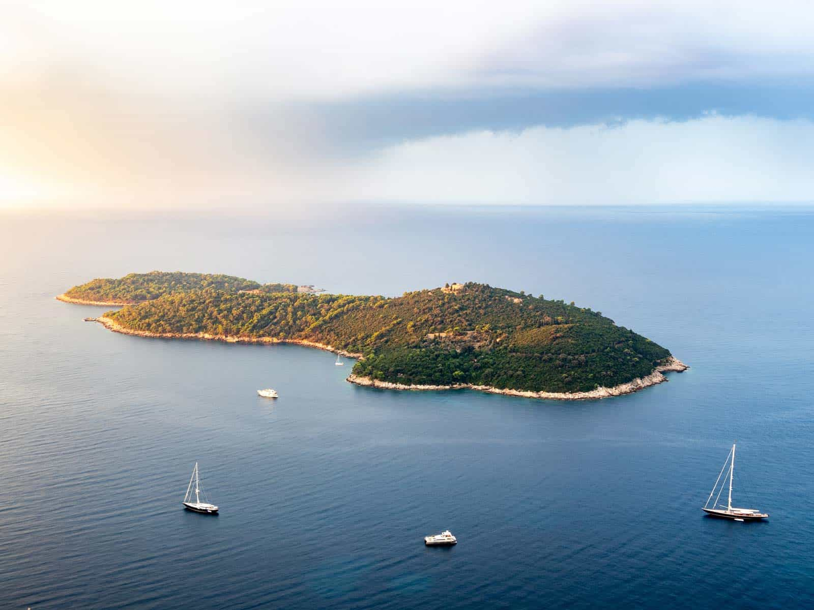 eiland lokrum bezoeken