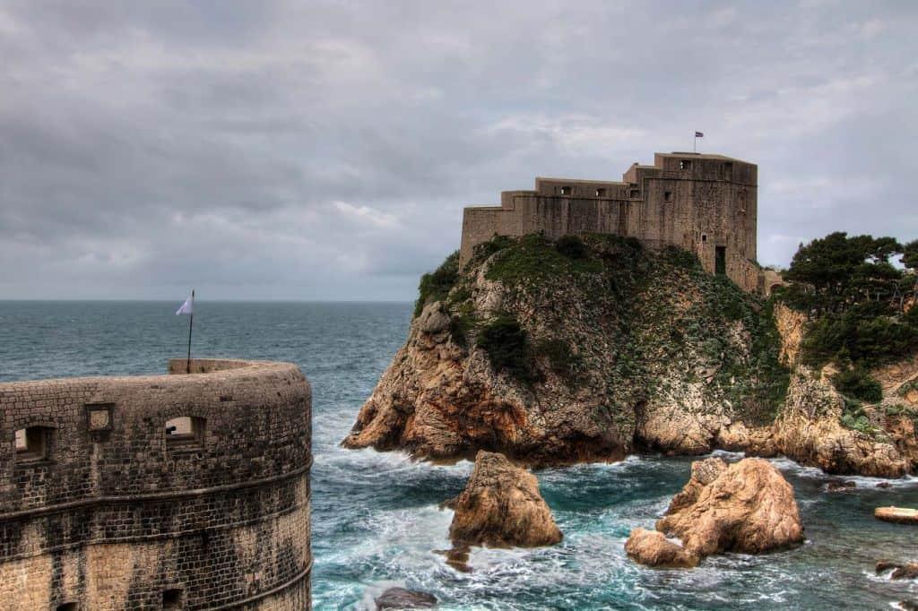 het kasteel van Lovrijenac