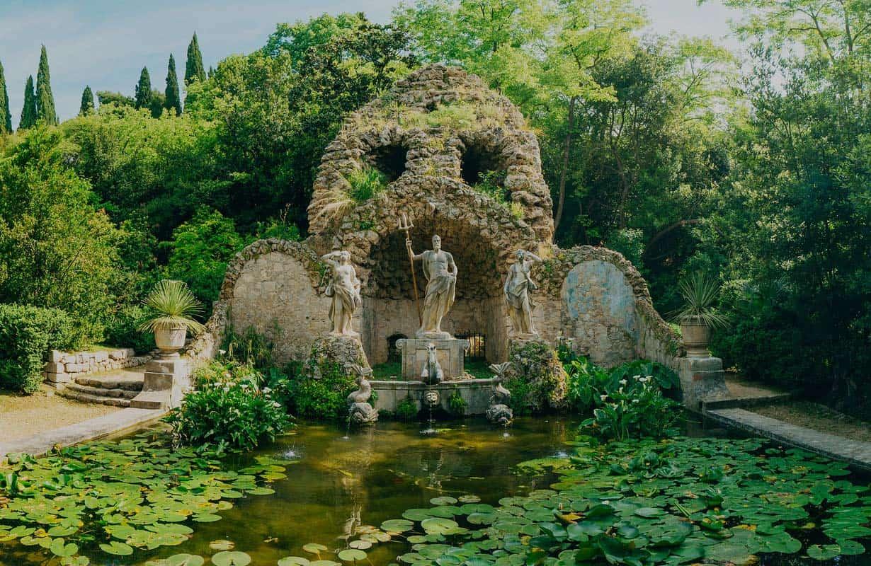Trsteno Arboretum in Dubrrovnik