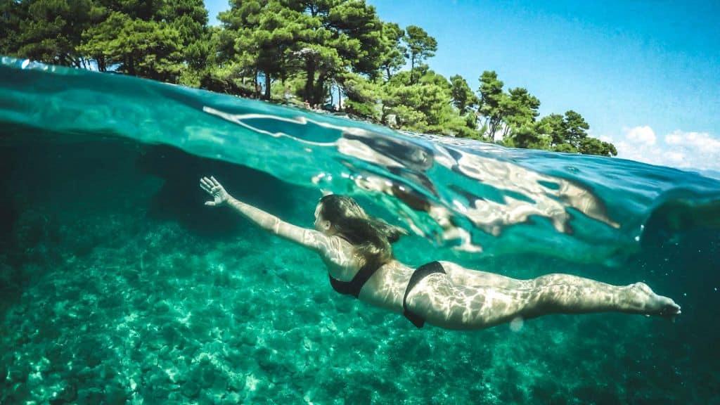 wild zwemmen frankrijk