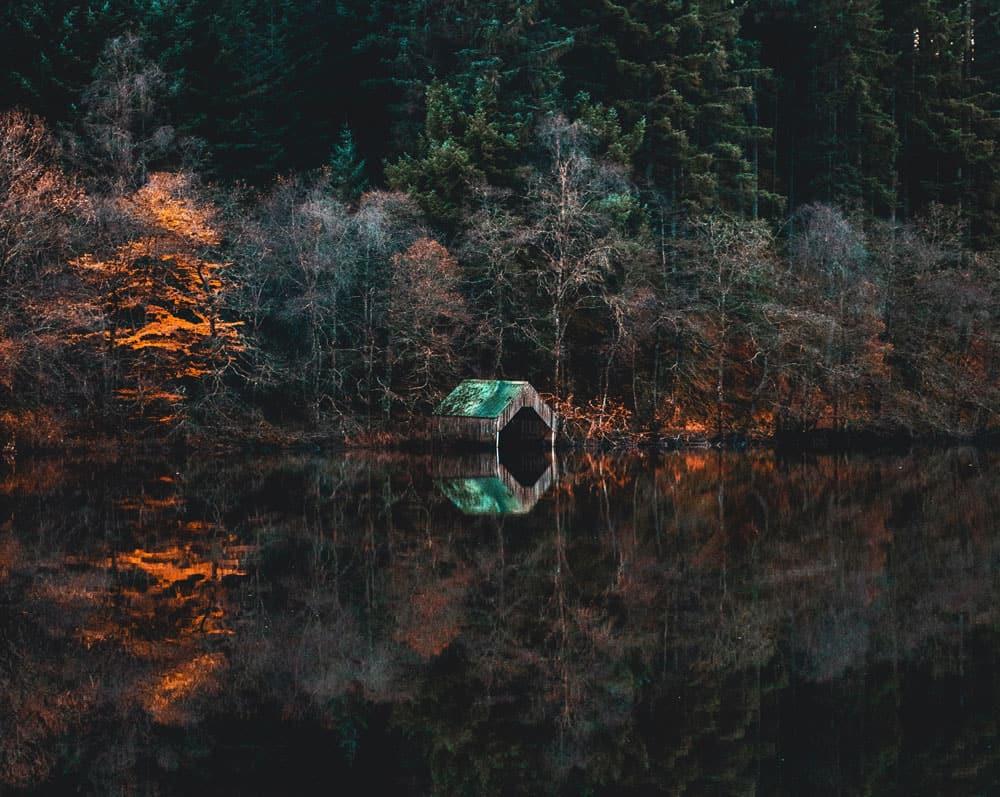 Trossachs National Park & loch Lomond