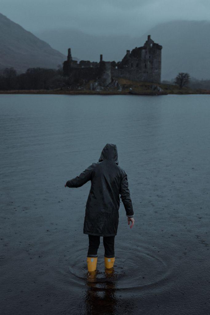 Kilchurn castle loch lomond