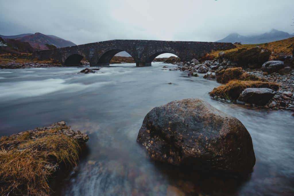 Sligachan old bridge isle of skye
