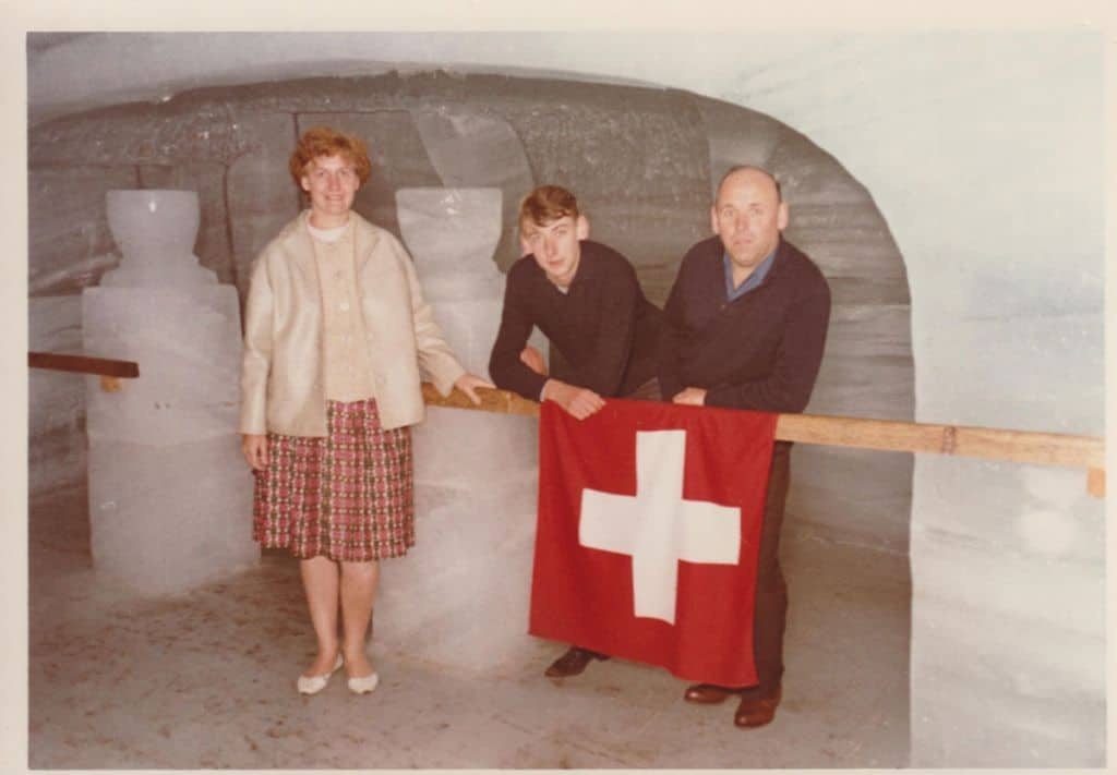 vakantie naar zwitserland in de jaren 70