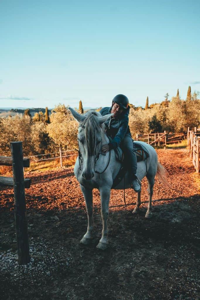 paardrijden toscane