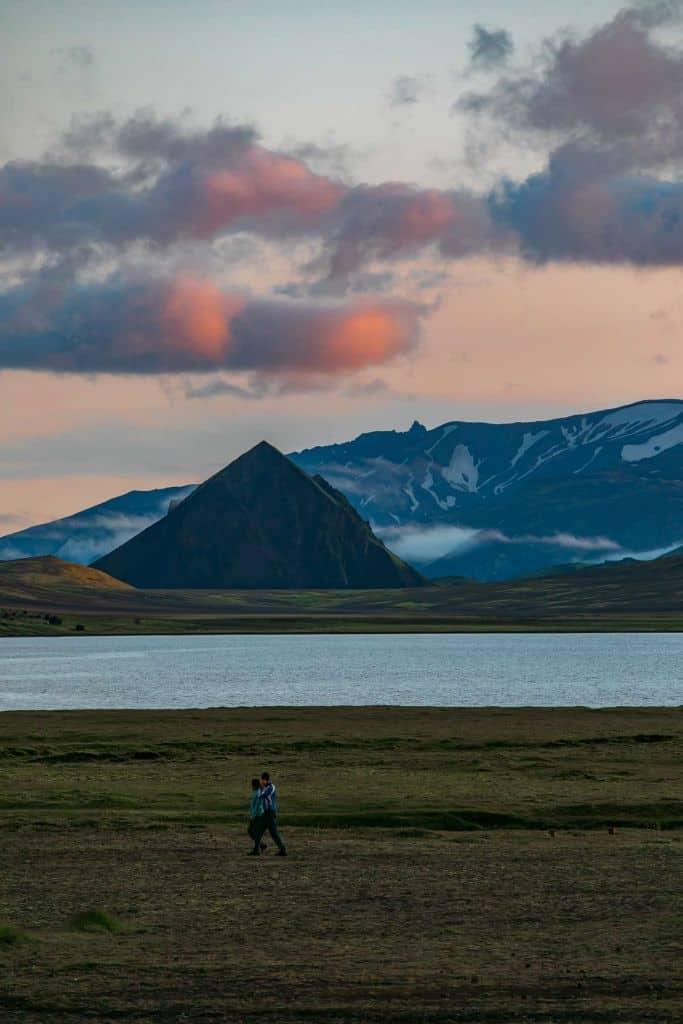meerdaagse hike ijsland