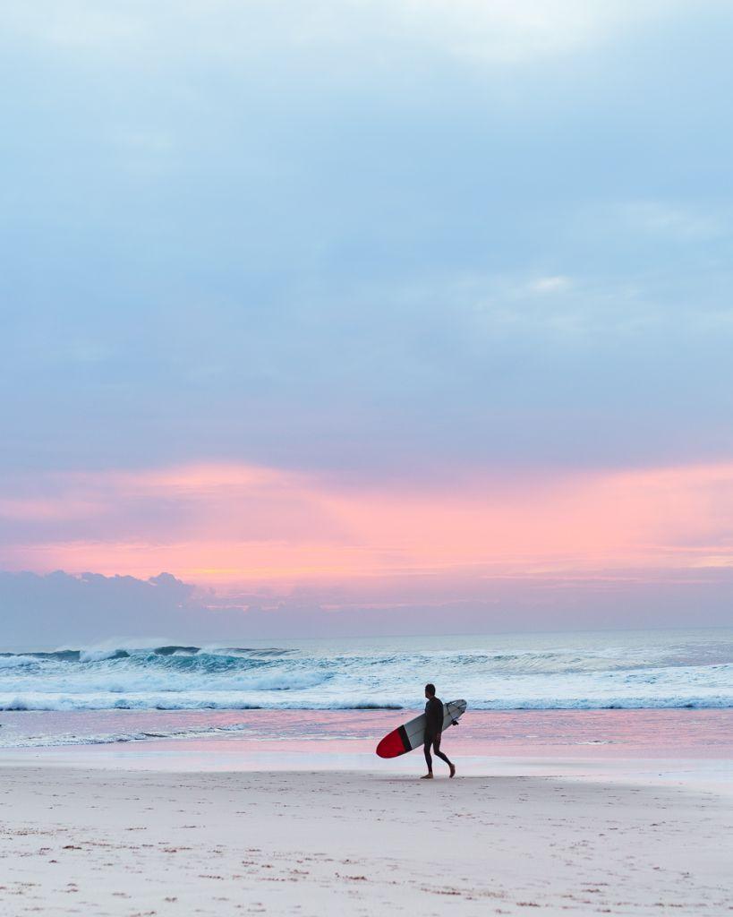 nazare portugal strand