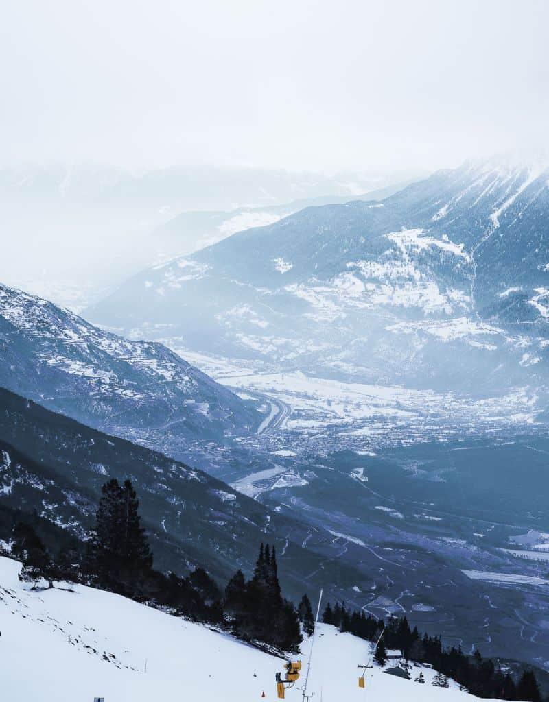 uitzicht crans montana