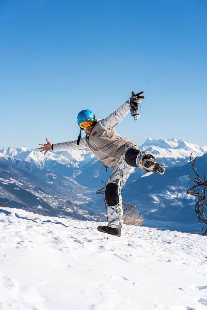 ski pistes en ski pas crans montana