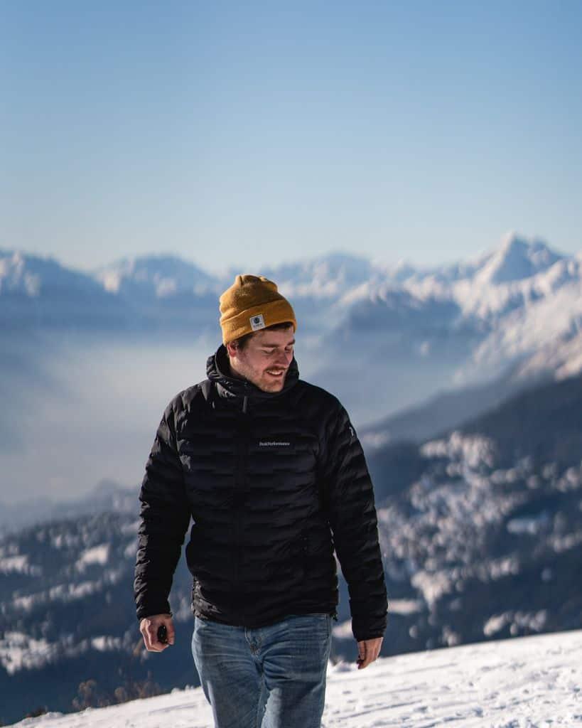 wandelen in crans montana
