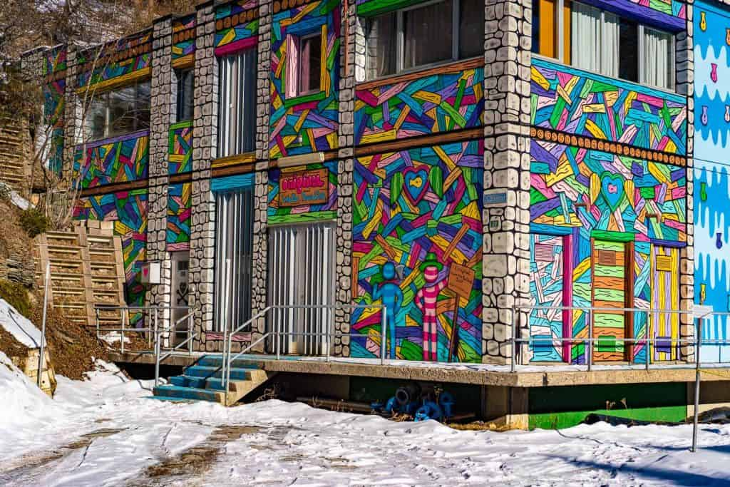grafitti crans montana
