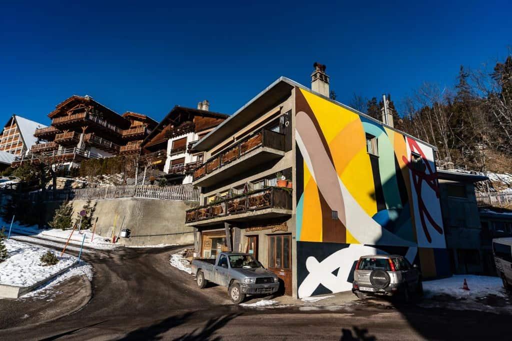 street art vision and arts festival crans montana