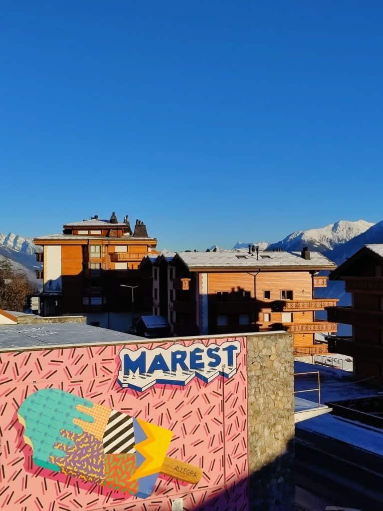 kunst in crans montana street art