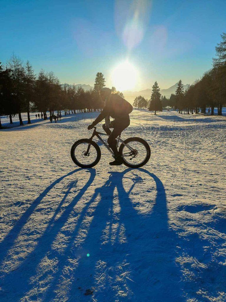 fat bikes crans montana