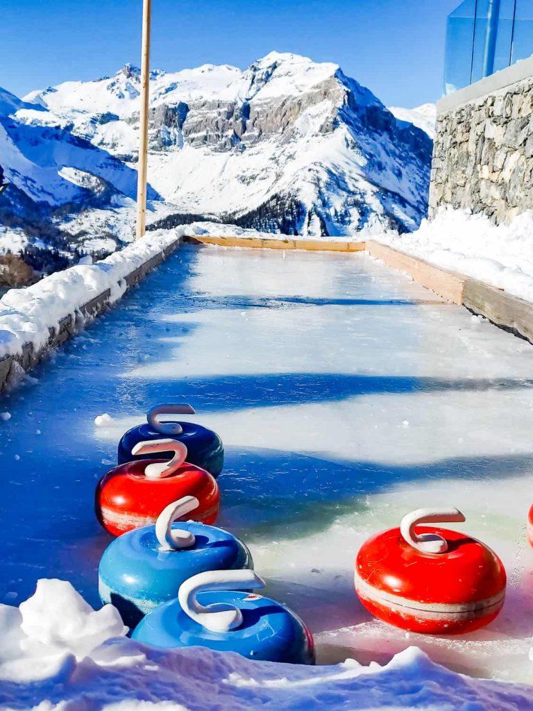 curling in crans montana