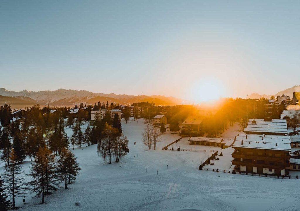 zwitserland in de winter